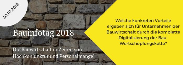 Bauinfotag 2018
