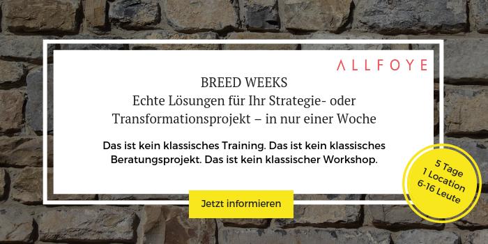 Mehr Informationen zu den Breed Weeks und Anmeldung