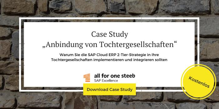 """Kostenloser Download der Case Study """"Anbindung von Tochtergesellschaften"""""""