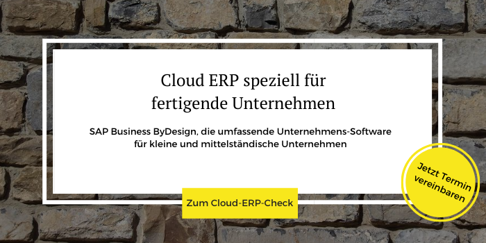Kostenloser Cloud-ERP-Check der All for One Group
