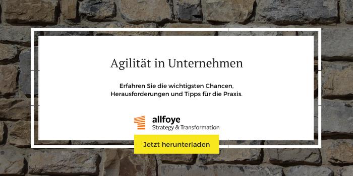 """Mehr Informationen und Downloads zum Thema """"Agilität in Unternehmen"""""""