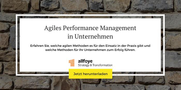"""Mehr Informationen und Downloads zum Thema """"Agiles Performance Management"""""""