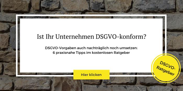 DSGVO PDF für besseren Datenschutz im Unternehmen