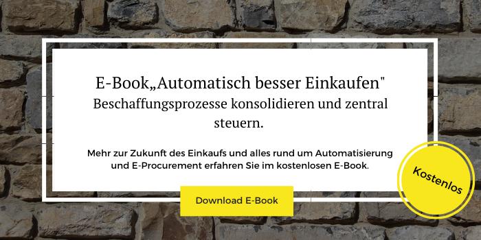 Erfahren Sie im E-Book, wie Sie Ihren Einkauf fit für die Zukunft machen.