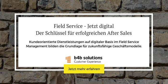 Digitale Dienstleistungen im Field Service Management (FSM)