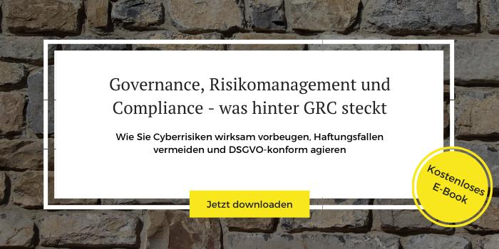Jetzt im E-Book zu Governance, Risk und Compliance mehr erfahren