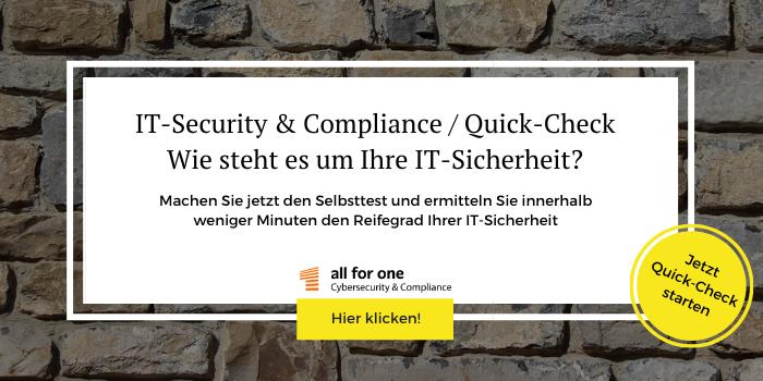 Ermitteln Sie innerhalb weniger Minuten, wie es um Ihre IT-Sicherheit steht