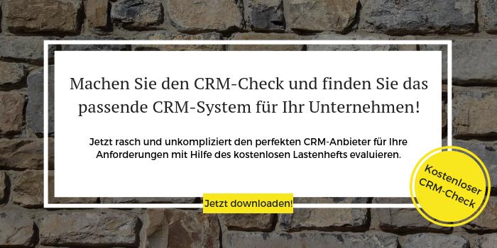 So einfach kommen Sie selten an einen kostenlosen CRM-Check