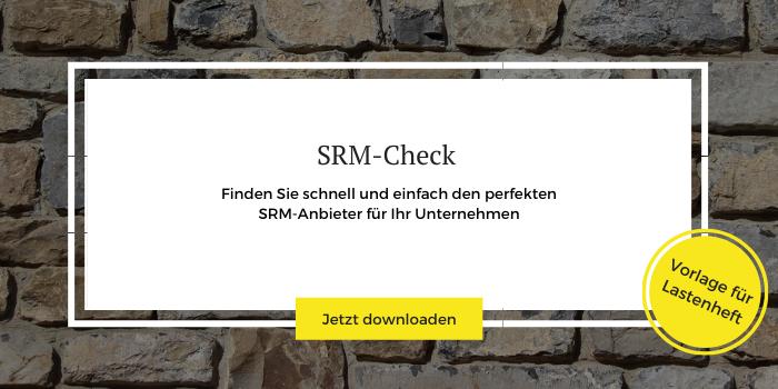 Download einer Lastenheft-Vorlage zum individuellen SRM-Check
