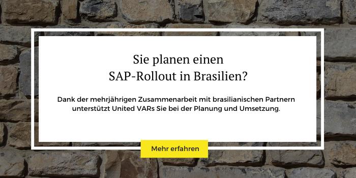 Mit dem richtigen Partner meistern Sie Ihren SAP Rollout in Brasilien