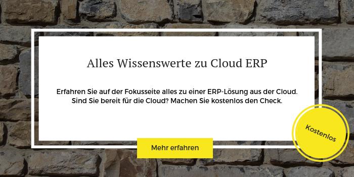 Hier geht es zum kostenlosen Cloud ERP Check