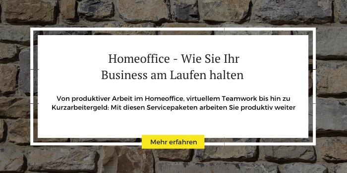 Homeoffice-Pakete, die Ihr Business am Laufen halten