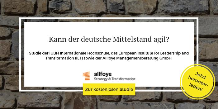 Whitepaper zur Agilitäts-Studie zum kostenlosen Download