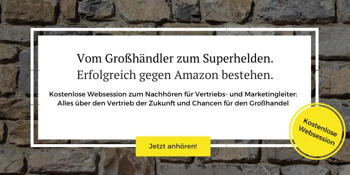 """Aufzeichnung des Online-Events """"Vom Großhändler zum Superhelden"""" zum kostenlosen Download"""