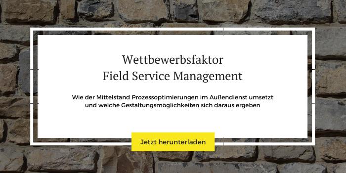 """Mehr Informationen und Downloads zum Thema """"Field Service Management"""""""