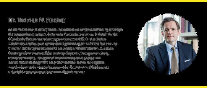 Experten für B2B Vertrieb Dr Thomas Fischer