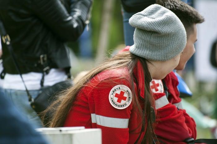 KI unterstützt auch international die Hilfskräfte des Roten Kreuzes