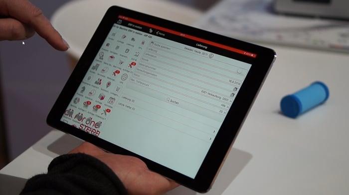 KI-angelernte Objekte werden per Smartphone oder Tablet erkannt
