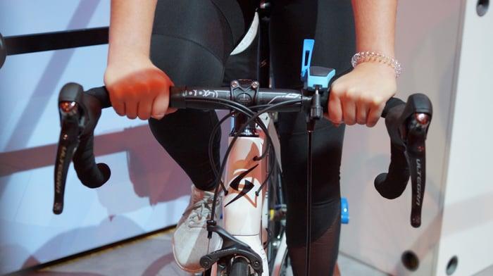 Radgröße und Lenkerhöhe sind von der individuellen Körpergröße abhängig