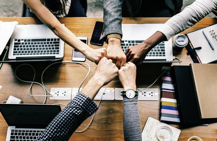 Teamarbeit wird im Zusammenhang mit New Leadership immer wichtiger