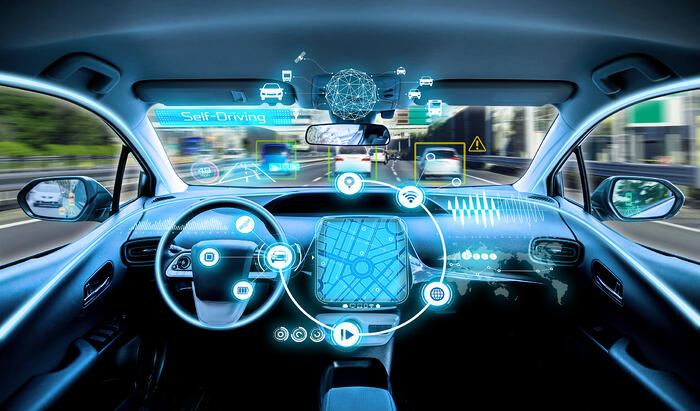 Selbstfahrendende Autos sind Teil der Automotive Cloud von VW und Microsoft