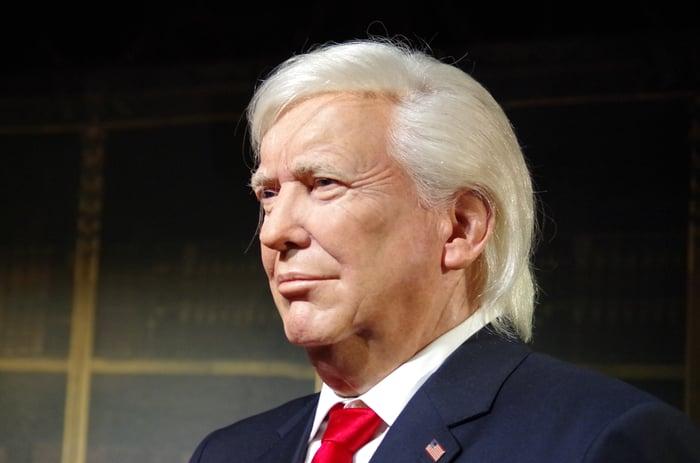 US-Präsident Trump möchte sein Land vorne sehen