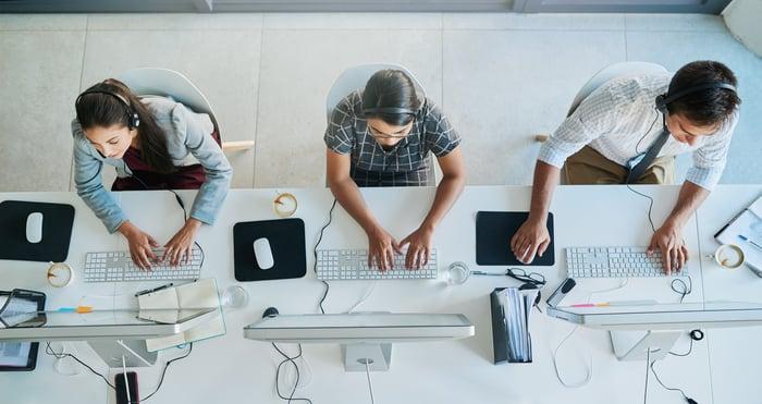 Skype for Business können Unternehmen auch im Call Center nutzen